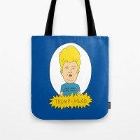 TRUMP-HEAD Tote Bag