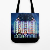 Mad Hatter's House Tote Bag