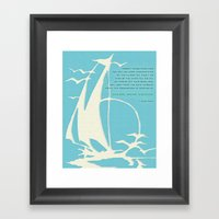 Explore. Dream. Discover… Framed Art Print
