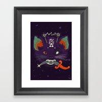 LIEUTENANT MARZKATZ FOXM… Framed Art Print