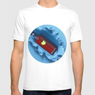 A Jug Of Wine With Famil… Mens Fitted Tee White SMALL