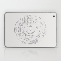 Record Black and White Laptop & iPad Skin