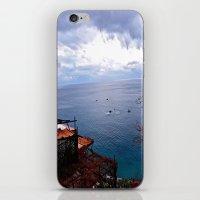 Positano: Amalfi Coast, … iPhone & iPod Skin
