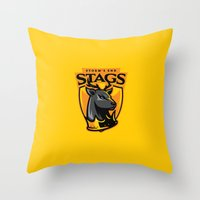 Storm' End Stags Throw Pillow