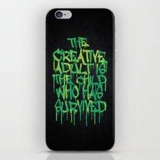 Graffiti Tag Typography!… iPhone & iPod Skin