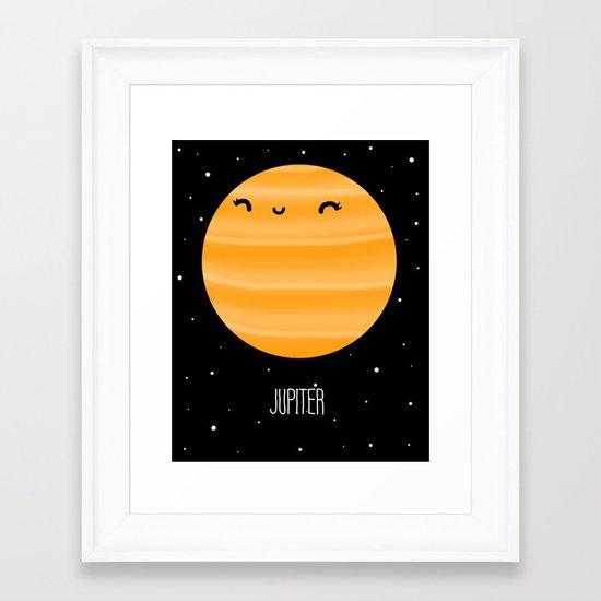 Jupiter Framed Art Print