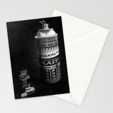 Exterminated Who Stationery Cards
