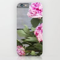 iPhone Cases featuring peonies IV by petra zehner