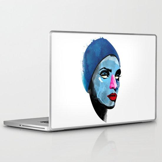 Woman's head Laptop & iPad Skin