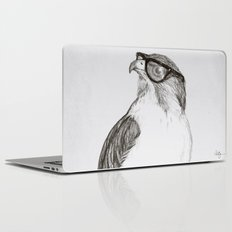 Hawk with Poor Eyesight Laptop & iPad Skin