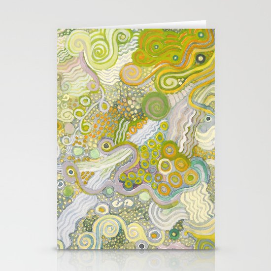 Peas and Noodles Stationery Card