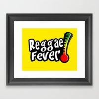 Reggae Fever Framed Art Print