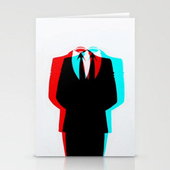 Anonymous.1 Stationery Card
