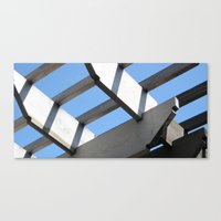 Sky Grid Canvas Print