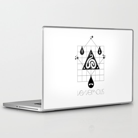 Venemous. Laptop & iPad Skin