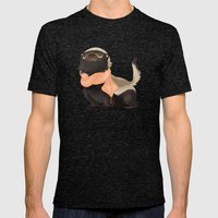 Honey Badger Don't Care Mens Fitted Tee Tri-Black SMALL