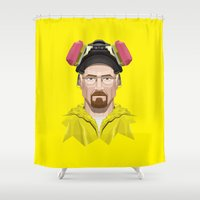 Breaking Bad - Walter Wh… Shower Curtain