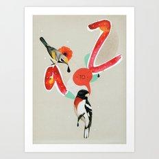 a to z Art Print