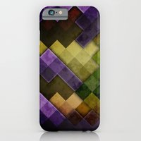 iPhone & iPod Case featuring Abstract Cubes GYP by Roboz