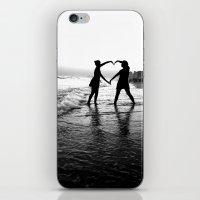 Love BW iPhone & iPod Skin