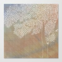 The Second Tree Canvas Print