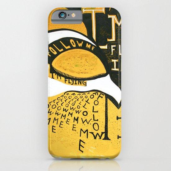 Follow Bird iPhone & iPod Case