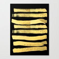 Sochie - Black Gold Mini… Canvas Print