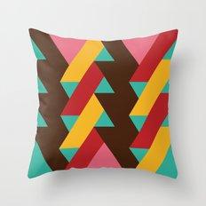 Ribbon Pattern 2 Throw Pillow