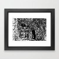 Disturb II Framed Art Print