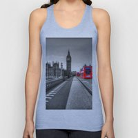 Big Ben, London Unisex Tank Top