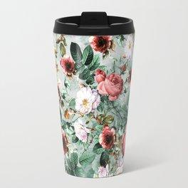 Travel Mug - Rpe Seamless Floral Pattern I - RIZA PEKER