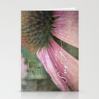 Life Is A Song Stationery Cards