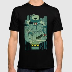 Ghostbusters Black SMALL Mens Fitted Tee