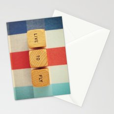 Live To Fly Stationery Cards
