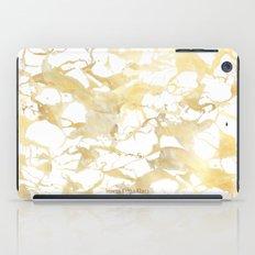 Marble gold iPad Case