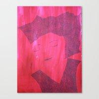 Canvas Print featuring Curious Beauty by Tara Bateman