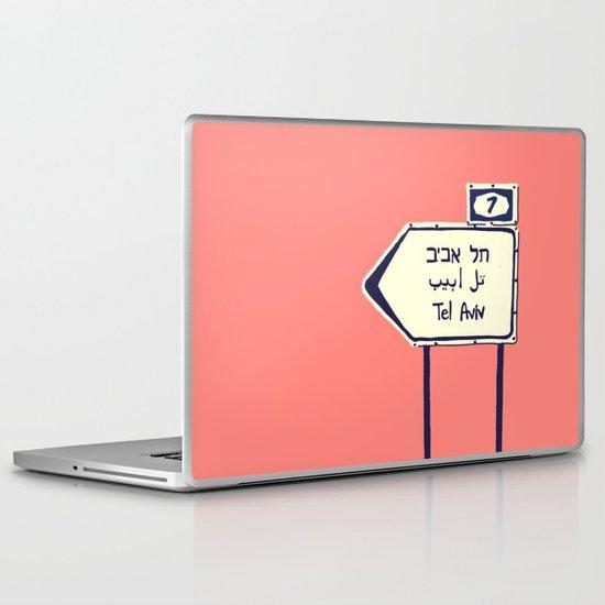 Tel Aviv This way Laptop & iPad Skin