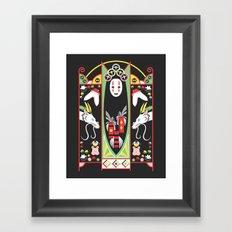 Spirited Deco Framed Art Print