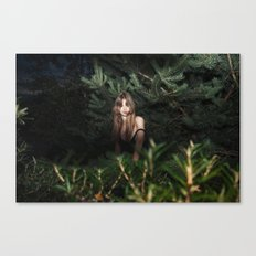 Searching For A Rabbit H… Canvas Print