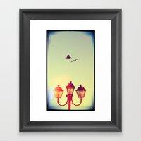 2 Vs. 3 Framed Art Print
