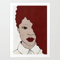 Female One Art Print