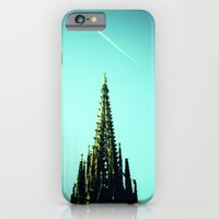 iPhone & iPod Case featuring look up by Nina