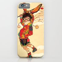 iPhone & iPod Case featuring The land of the rising zine by Natsuki Otani