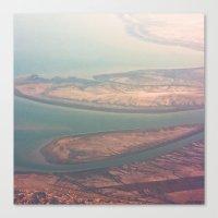 Aerial View Canvas Print
