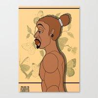 1001 Black Men--#503 Canvas Print
