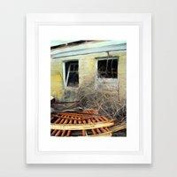 In Decay #1 Framed Art Print