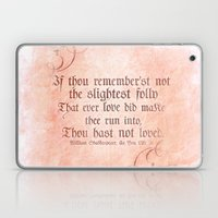 The Folly Of Love - As Y… Laptop & iPad Skin