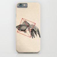 fish iPhone & iPod Cases featuring Fish In Geometrics III by Florent Bodart / Speakerine