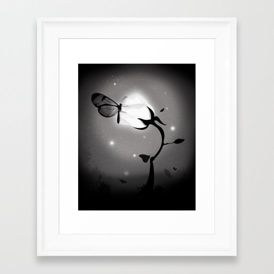 Recharging Framed Art Print