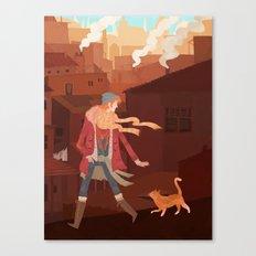 Feral Canvas Print